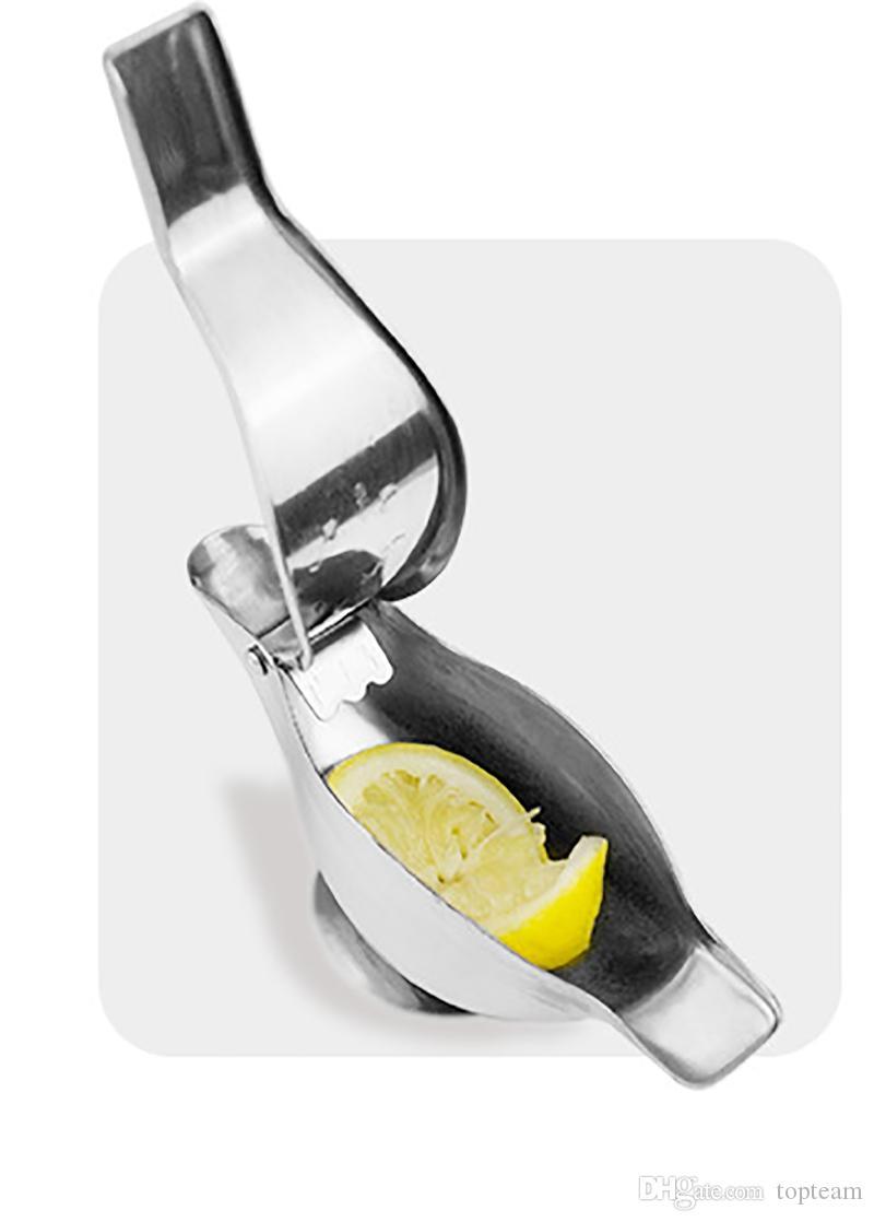 Stainless Steel Lemon Squeezer Lemon Manual Fruit Juicer Sturdy Lime Squeezer Manual Lime Fresh Juice Tools DHL
