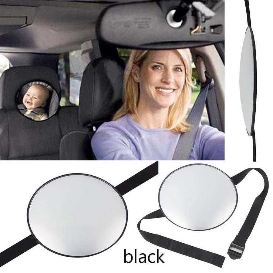 réglable siège arrière de voiture sécurité vue miroir arrière bébé face à la voiture intérieur bébé enfants moniteur inversé sièges de sécurité miroir