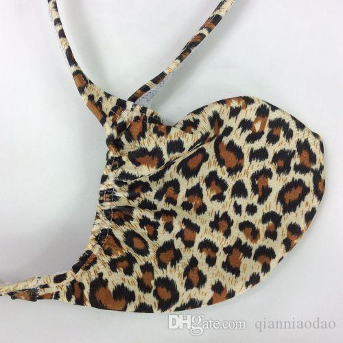 0de7858f4311 2019 Mens New Style Fashion Thong Bulge Pouch T Back Grape Smugglers Leopard  Prints Stretchy Swim Fabric G4034 From Qianniaodao, $7.11   DHgate.Com