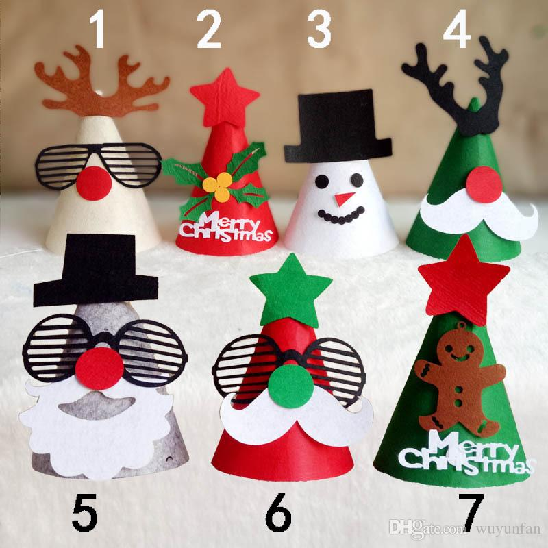 United States Christmas Ornaments Part - 35: Europe And The United States Christmas Decorations Handmade Diy Non Woven  Crafts Gifts Decorative Blankets Cloth Christmas Ornaments Christmas  Decorations ...