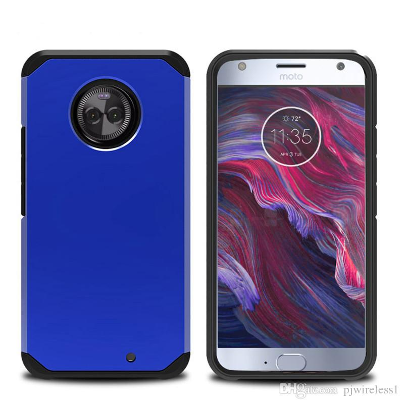 the best attitude c4234 3d077 Armor Case For motorola MOTO X4 case Hybrid Hard cover Dual Layer cover  protection 2 IN 1 case with opp bags C