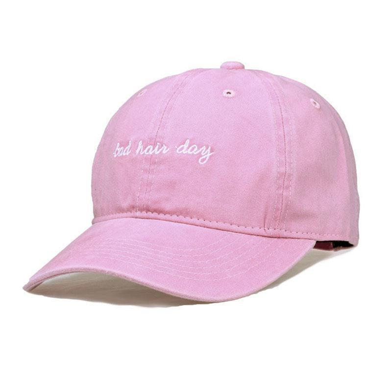 Wholesale FAIRY SEASON Summer Bad Hair Day Baseball Cap For Men Or Women  Fashion Brief Style Snapback Bone Hats Pink Grey Blue Hat Cap Online  Starter Cap ... 3a5fdcd3e02