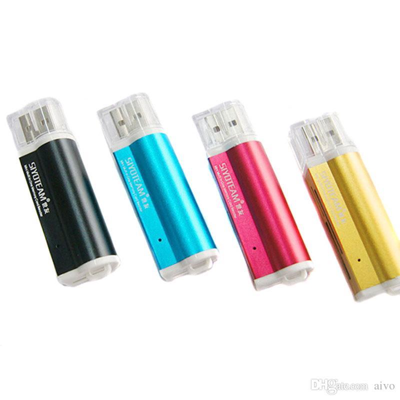 WSZYSTKIE W 1 USB 2.0 MULTI MEMORY KARTA KARTA Złącze adaptera do mikro SD MMC SDHC TF M2 Memory Stick MS Duo RS-MMC