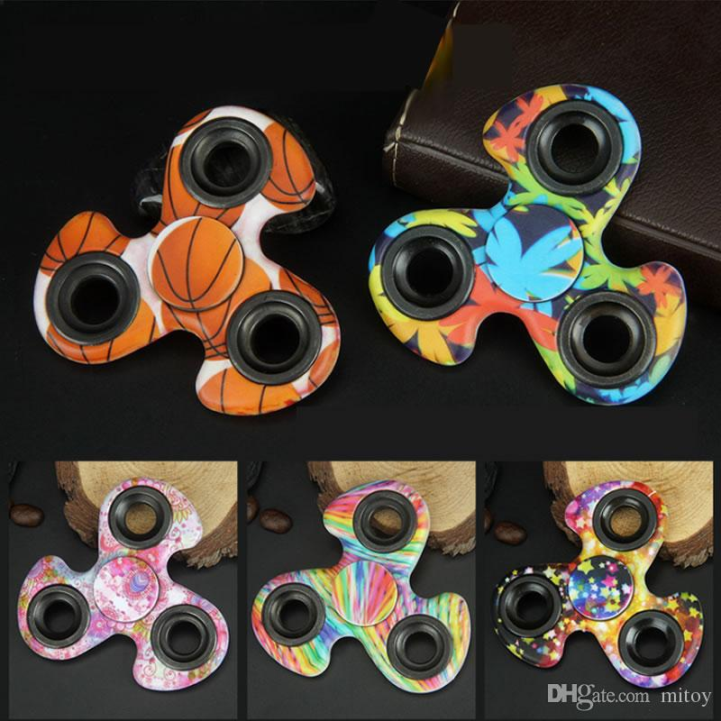 Windmill Tri Fid Spinner Gyro Style Camouflage Fid Spinners