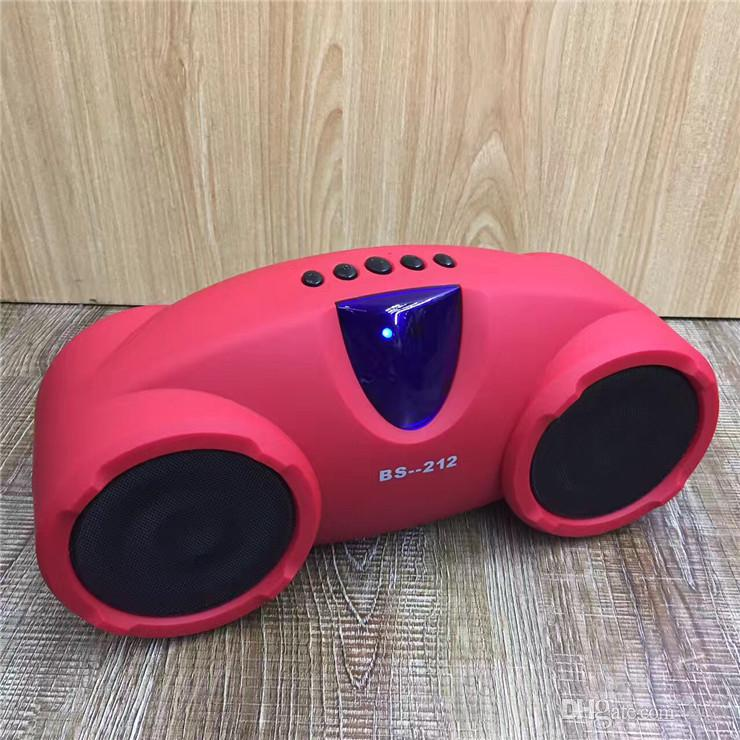 High-end Quality Wireless Bluetooth Speaker BS-212 Portable Large Portable Metal Bluetooth Audio, The Best Sound Quality, Factory Direct