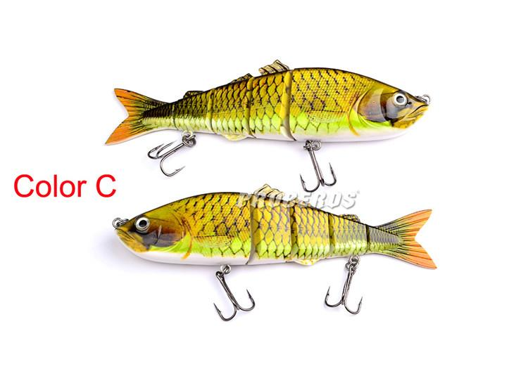 Best Saltwater Fishing Big Game ABS Platic Lure 26cm 177g 5 Sections Big Bass Bait 4/0# Hook Fishing Tackle
