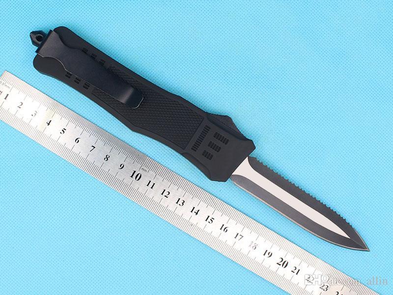 Promotion Allvin Fabrication AUTO Couteau tactique 440C bord à double lame EDC Couteau de poche EDC survie GEAR-
