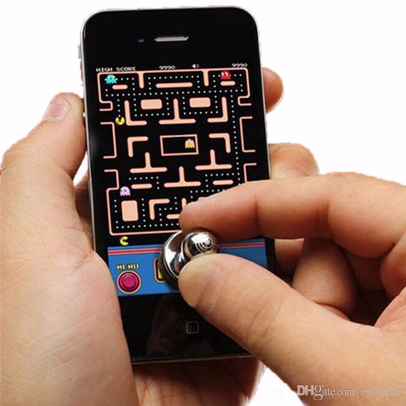 Heißer Verkauf Mini Joystick-ES Arcade-Spiel-Stock-Prüfer für iPad androide Tabletten PC DHL geben Verschiffen frei