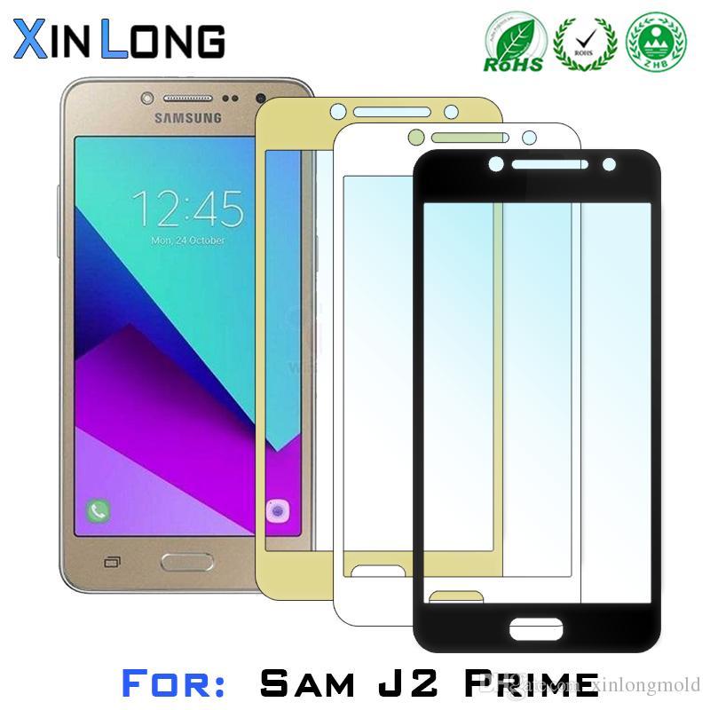 Flachbildschirm-Druck-ausgeglichenes Glas-Schirm-Schutz für Samsung J5 J2 PRIME J7 ZTE Warp-Synchronisierung N9515 Großartiges X4 mit Kleinverpackung