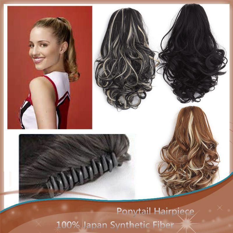 Wholesale Short Ponytail Hair Extensions High Heat Resistance Style