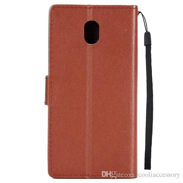 Korea Litchi Strap Wallet Leather Case For Samsung Galaxy S20 Plus Ultra A20E Note 10 Pro A60 M40 Stand Photo Card Skin Cover Fashion