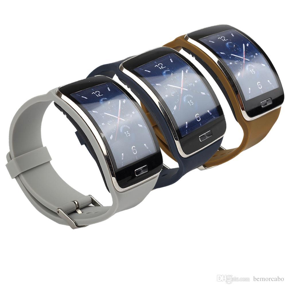 10e75b1f6d0 Compre Pulseira De Substituição Para Samsung Galaxy S Gear SM R750 Relógio  Inteligente