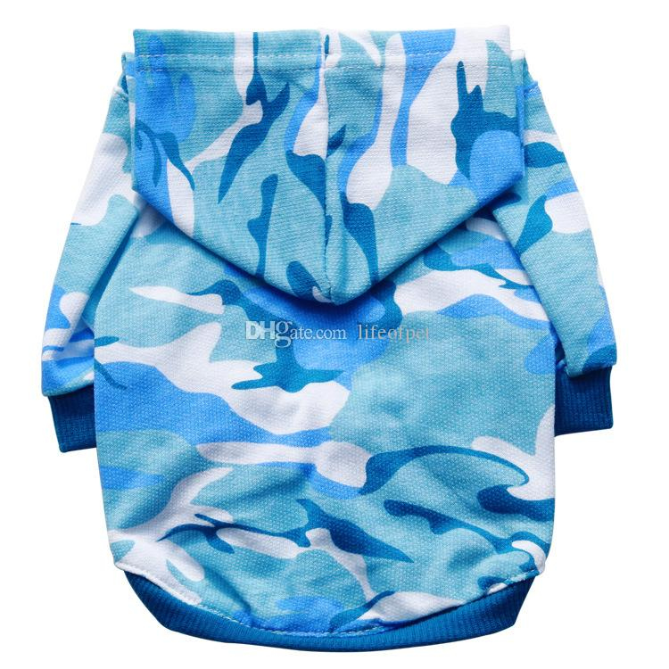 Hot Puppy Pet Dog Clothes winter Camouflage Sweatshirts dog clothes for small dogs Summer Yorkie dog chihuahua