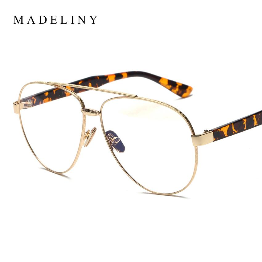 73a3ee885fe2 2019 Wholesale New Fashion Oversized Women Eyeglasses Frame 2017 Brand  Designer Vintage Round Spectacle Frames Glasses Oculos MA344 From Heathere