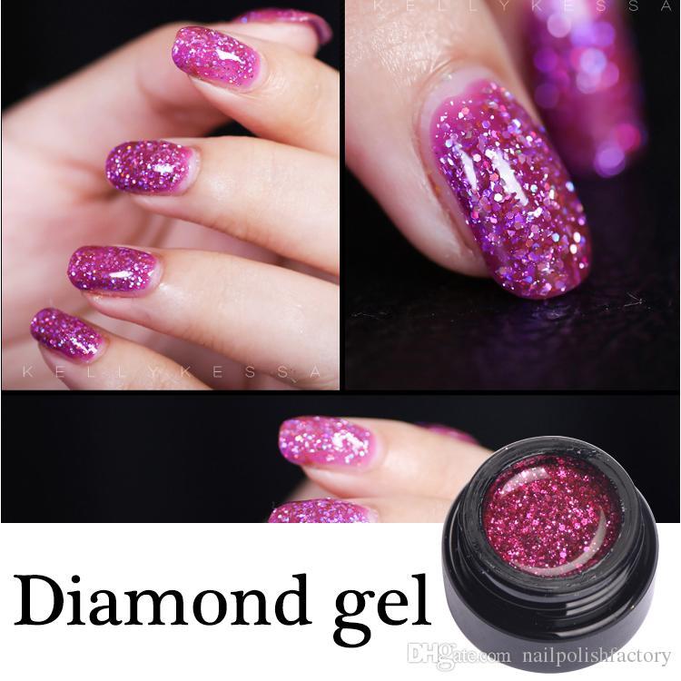 High Quality Soak Off Vip Diamond Nail Gel Led Uv Gel Nail Polish ...