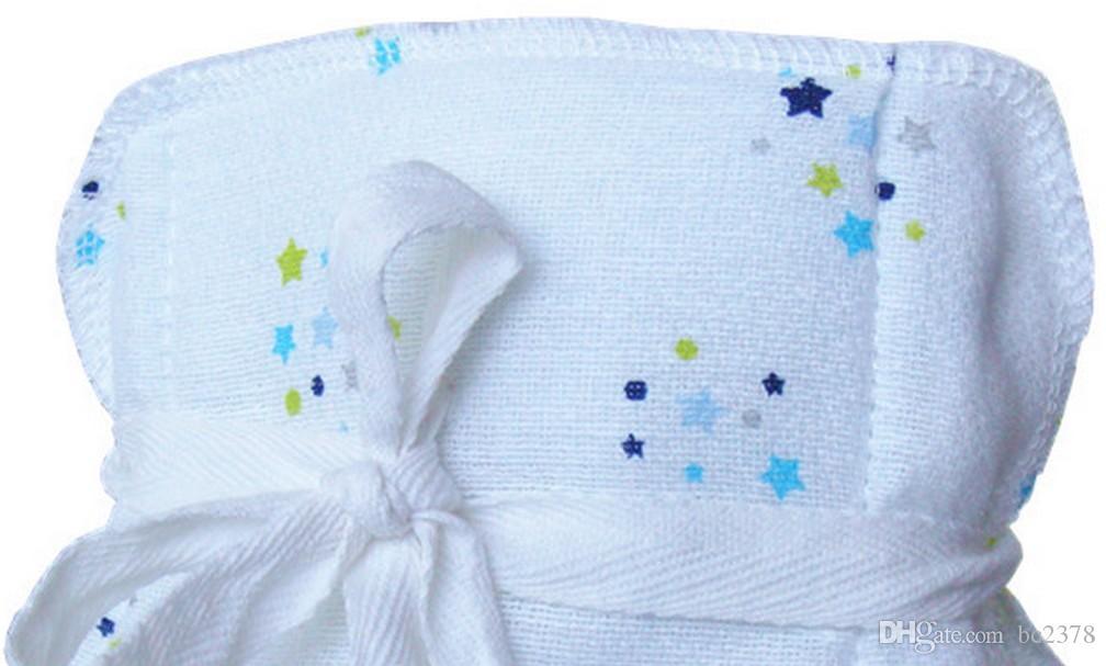 Pañales de tela de bebé sanos del pañal del telar jacquar de un tamaño conveniente 0-12 meses estilo blanco más grueso lavable