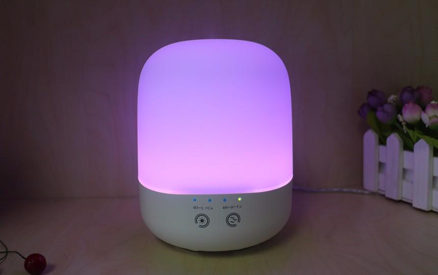 Office Aroma Diffuser Led humidifier Aromatherapy 300ML Colorful Lights Essential Oil Diffuser Ultrasonic Air Purifier Mist Maker
