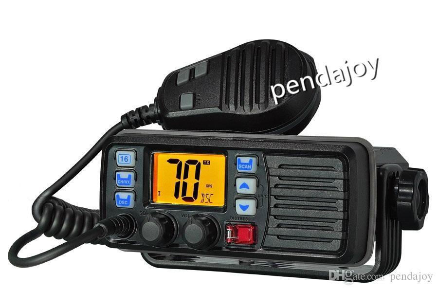 20 Sea Miles VHF 156-163MHz 88Channels professionale Marine Radiomobile DSC-impermeabile incorporata Marine radio mobile TC-507m