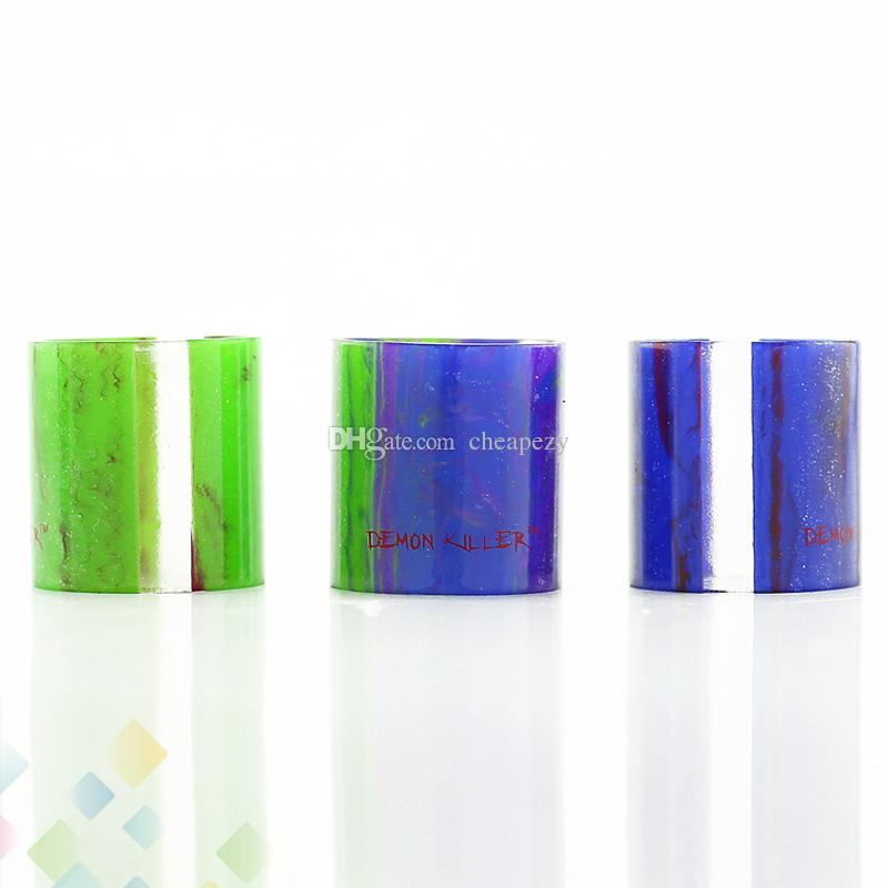 Demon Killer Replacement Resin Tube for TFV8 6ML Tank Atomizer Replacments Tube High quality E Cigarette DHL Free