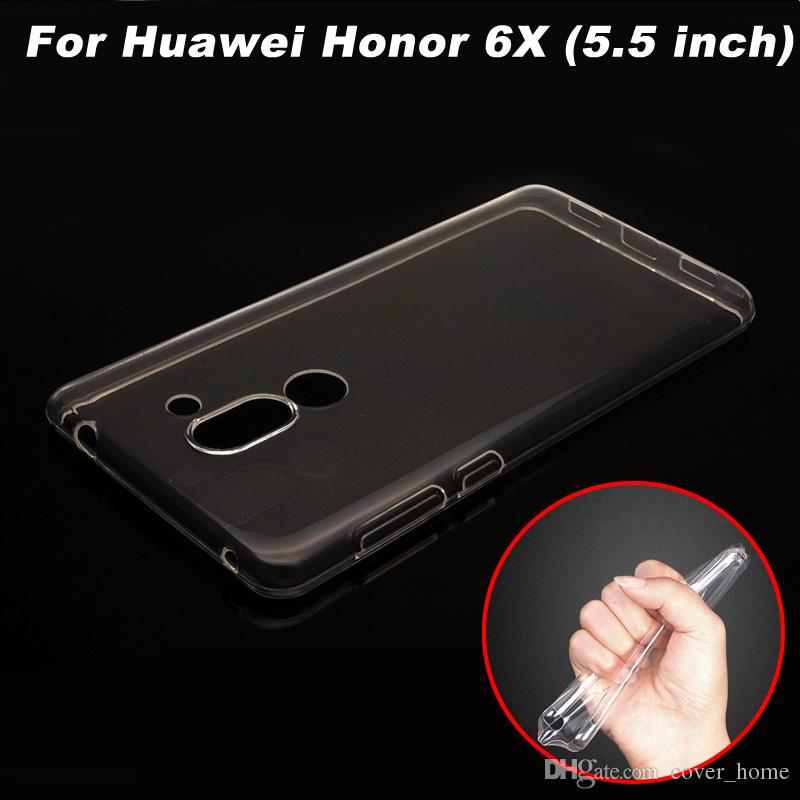 huawei honor 6x. cool huawei honor 6x case cover transparent tpu soft phone for 6 x back 5.5 inch cell cases from