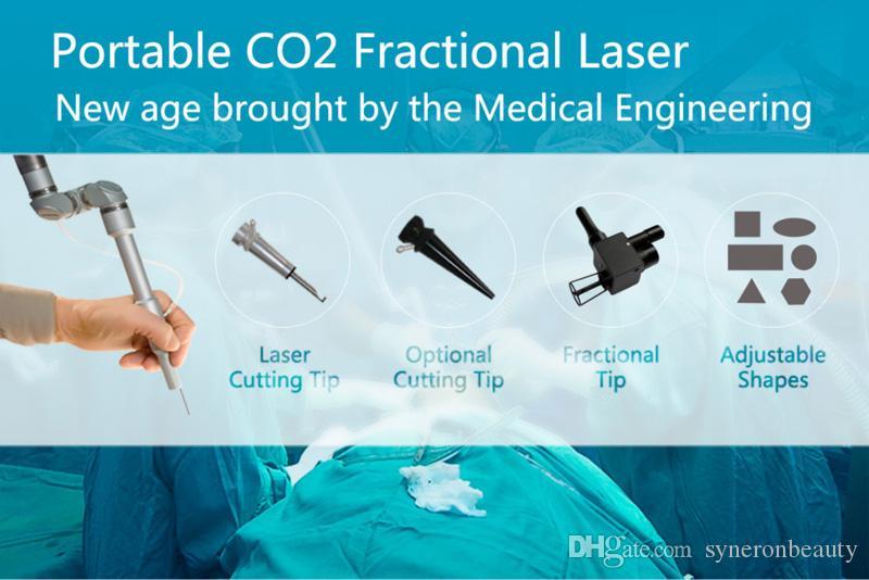 2017 neue Produkt Hautverjüngung Bruchlaser CO2 Gesichtspflege Naevus Entfernung Verjüngung Maschine für SPA