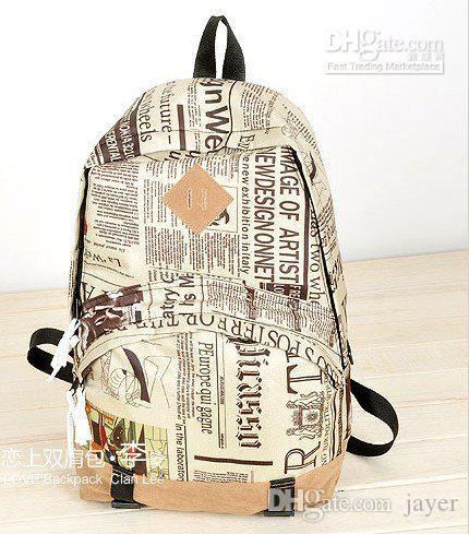 Hot fashion newspaper backpack new world map travelling bag good hot fashion newspaper backpack new world map travelling bag good quality jansport big student backpack tactical backpack from jayer 2534 dhgate gumiabroncs Image collections
