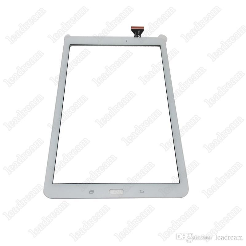 태블릿 PC 터치 스크린 디지타이저 유리 렌즈 삼성 갤럭시 탭 E T560 무료 DHL에 대 한 테이프와 함께