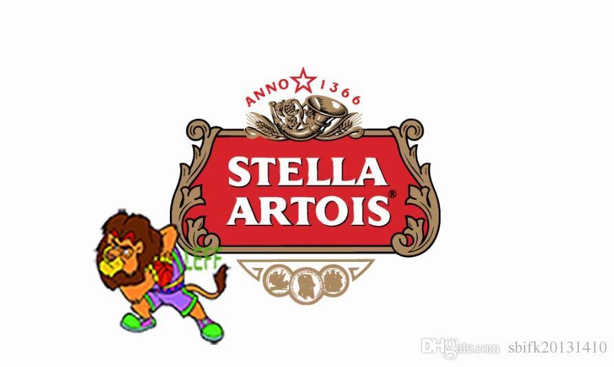 Compre Horários Cerveja Stella Artois Logotipo Bandeira 406fa0a4434