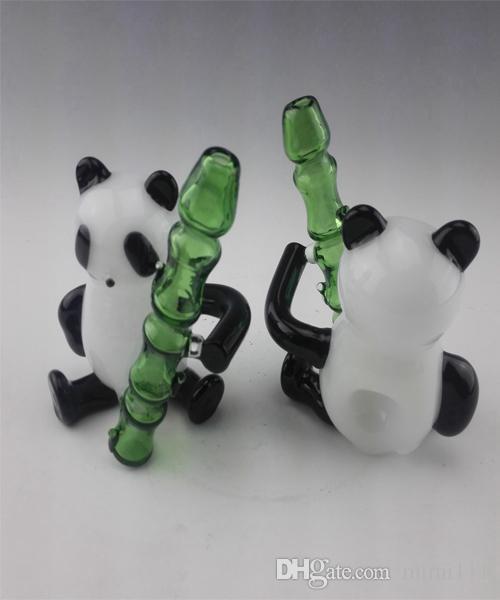 New Beaker Bongs With 2017 Panda shape design Glass Water Pipes Oil Rigs Glass Bong