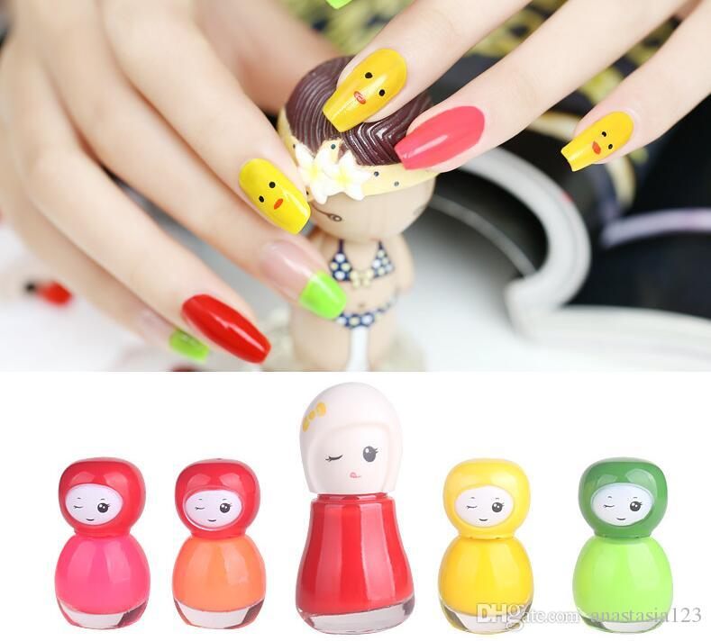 Bk Brand Water Base Peel Off Nail Polish Parents And Children ...
