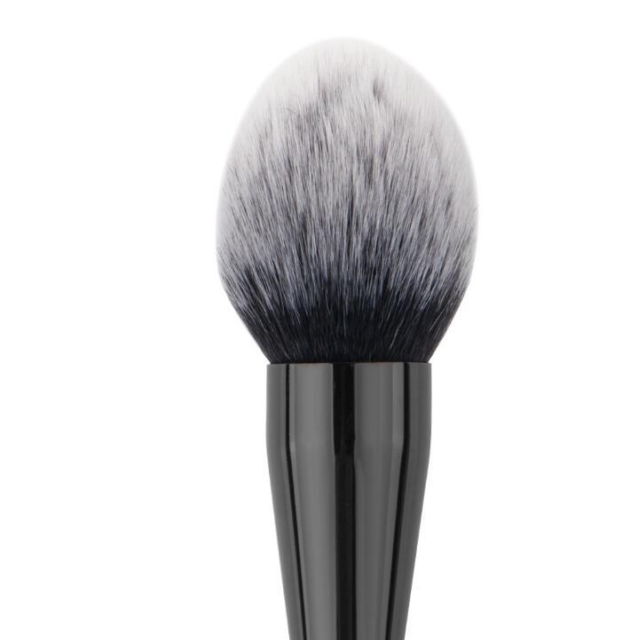 Wholesale Flame Top Makeup Brush Black Foundation Loose Powder Blush Blusher Blending Flawless Brushes Makeup Tools DHL