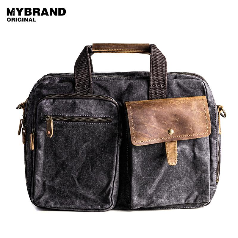 Wholesale MYBRANDORIGINAL Handbag Vintage Wax Canvas Men Shoulder Bag Large  Capacity Briefcase Laptop Bag High Quality Travel Bag B90 Satchel Bags Man  Bags ...