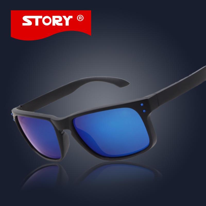 Compre Atacado História No Logo Moda Designer Sunglass Mens Holbrook Óculos  De Sol Mulheres Homens Polarized Lentes Esportes Sun Sunglasses Uv400 De ... 9be9497334