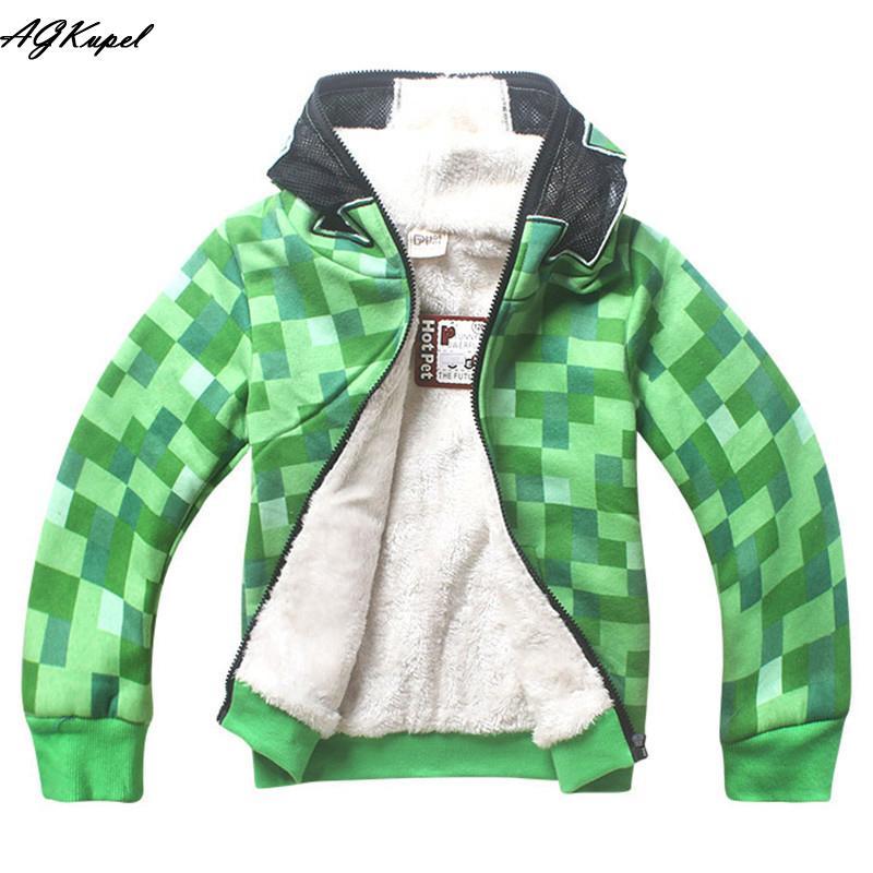 2016 New Warm Children Winter Jackets For Boys Fleece Coats ...