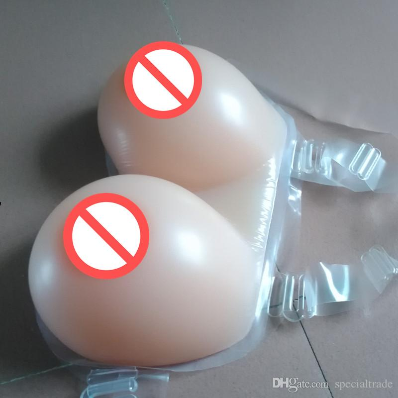 natural silicone breast forms Silicon Breast Cups 2000g largest size of shemale or crossdresser