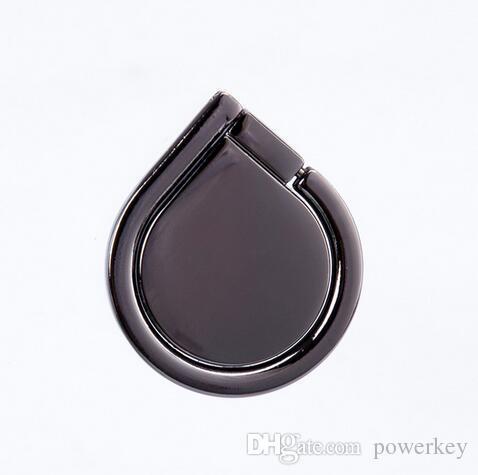 2017 portacellulare universale con forma a goccia d'acqua, 360 ° 180 °, anello in lega di zinco, nastro adesivo super resistente, porta cellulare