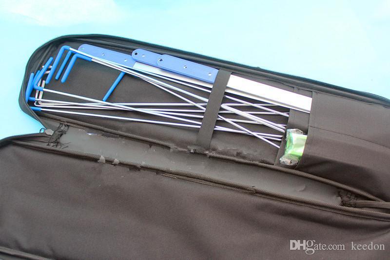 New KLOM Auto Quick Open lock Pick set professional car locksmith tools black small bag