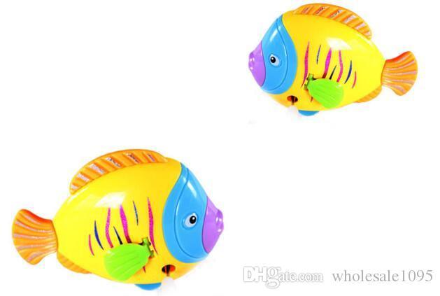 Fish Wind Up Toys Clockwork Toy Baby Kid Running Spring Water Toy Children Newborn Baby Mini Pet Animal YH992