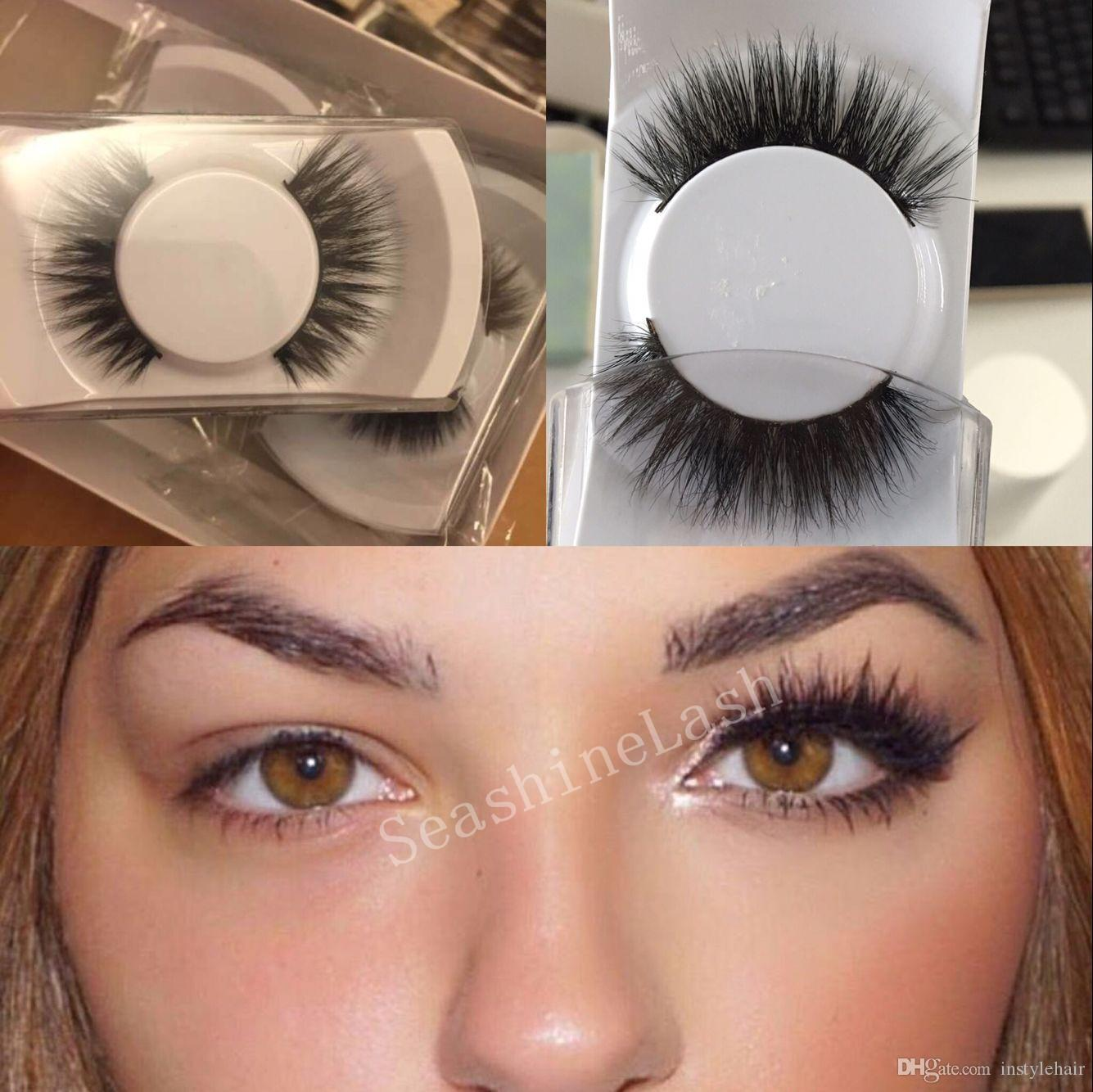3d False Eyelashes Handmade Voluminous 3d Silk Fake Eyelashes For
