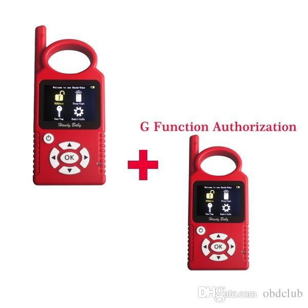 DHL free shiping Portuguese Version V8.2.0 Handy Baby G Funtion Car Key Prog Auto Key Programmer for 4D/46/48 Chips + G Chip Copy Function