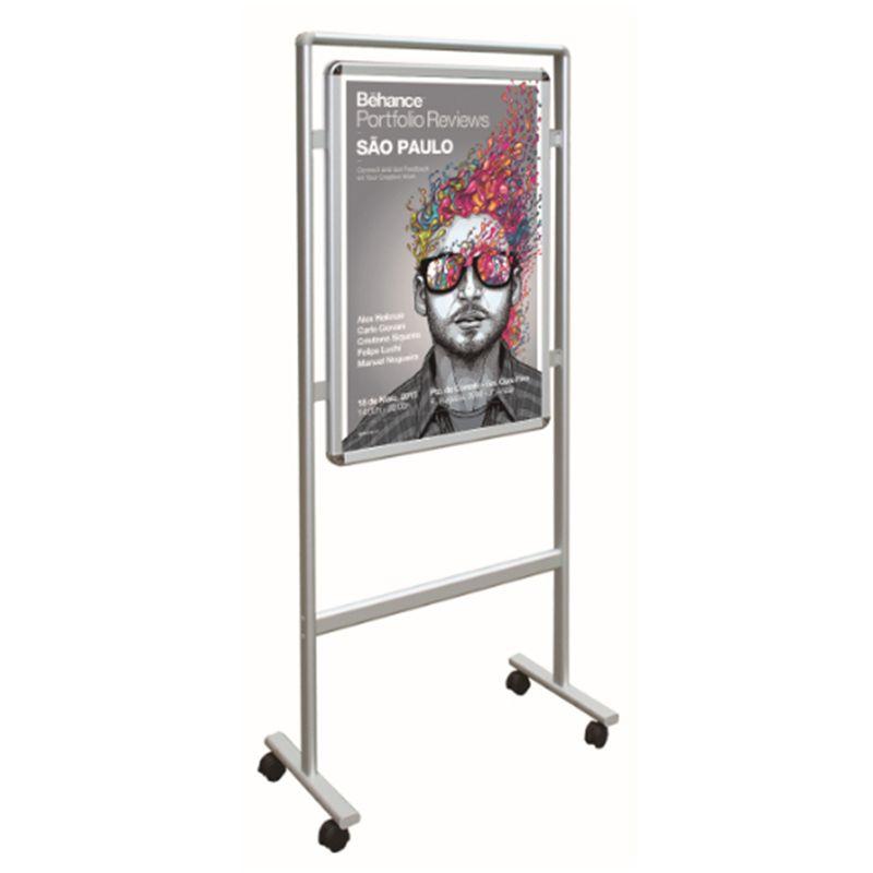 Großhandel Bewegliche Doppelseitige Snap Poster Display Mit ...