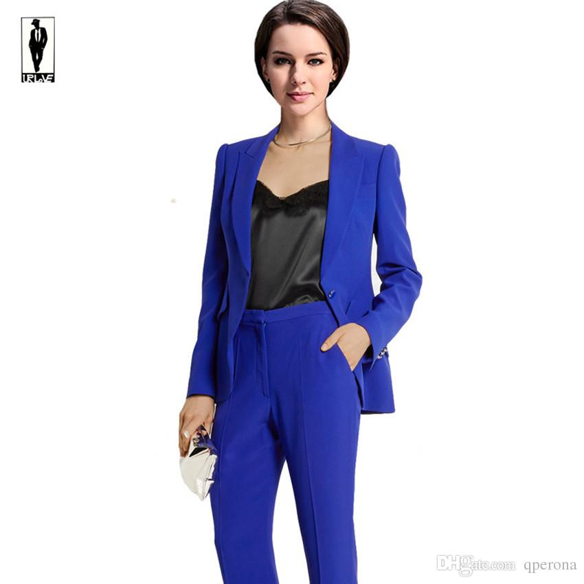 2017 Ur 30 Custom Navy Blue Work Bussiness Formal Elegant Women ...