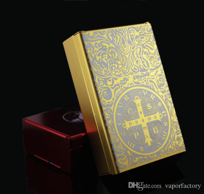 Rouge Personnalisé Golden Auto Untra Thin Alliage Mâle Titulaire de cigarette Noir Aluminium Constantine Boîtes de cigarettes automatiques Laser
