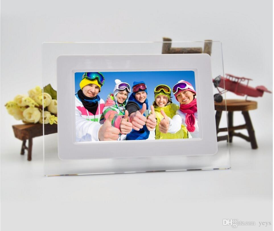 7 Inch Hd Lcd Screen Desktop Digital Photo Frame Calendar Digital