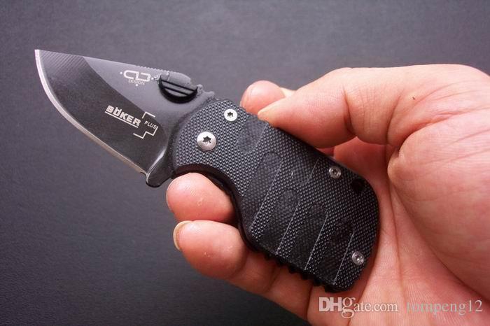 BOKER.QQ Little Black Pig 440C 54HRC Outdoor Survival Camping Jagd Wild Geschenk Messer Freies Verschiffen
