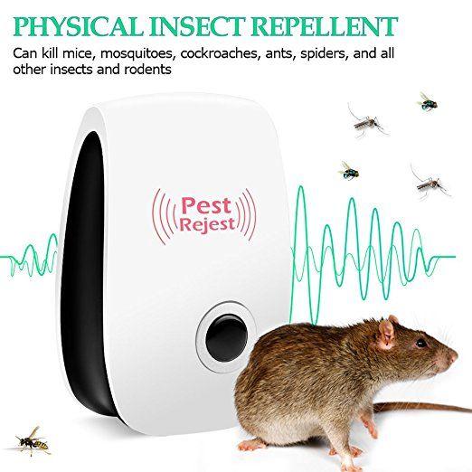 Bug Zapper-Ultrasonic Pest Repeller-Pet Safety Plug-in-Schutz gegen elektronische Schädlinge bei Mücken, Mäusen, Ameisen, Kakerlaken, Spinnen, Wanzen,