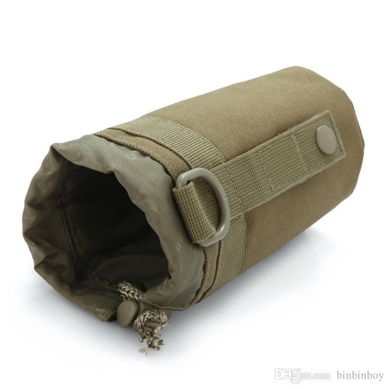MOLLE System Water Bottle Kettle Packs Waist Bag Holder Waterproof Advance Ultra-light Range Tactical Gear Outdoor