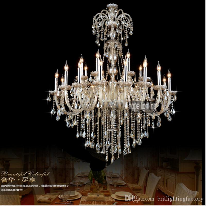 Luxurious european style lighting large crystal chandeliers luxurious european style lighting large crystal chandeliers contemporary crystal lighting big hotel banquet hall crystal chandelier light vintage chandelier aloadofball Image collections