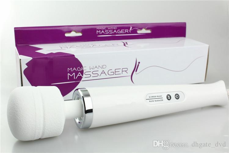 Hitachi Magic Wand Massager AV Vibrator Personal Full Body Massager HV-250R 110-240V Electric Massager US EU Plug