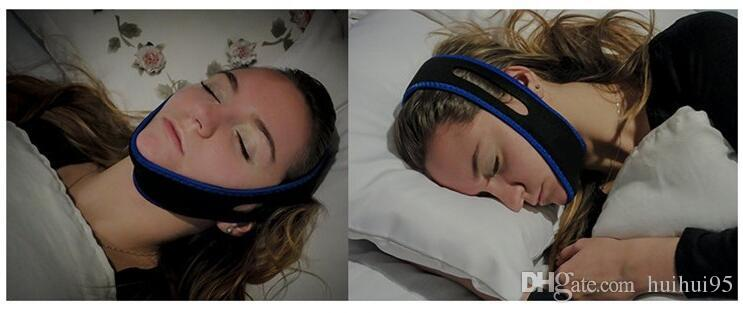 New Stop Snorin Anti-Snore Strap Apparatus with Anti-snore Chin Strap 600 X 32MM Stop Snoring Belt Anti Snoring Chin Jaw Supporter free ship